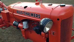 Restored 1946 Allis Chalmers C Tractor - For Sale