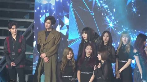 gfriend exo nct stage gaon award youtube