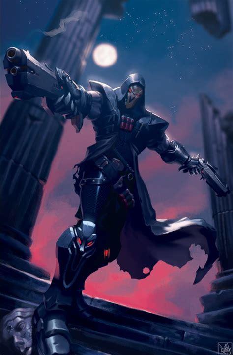 reaper overwatchoverwatchblizzardblizzard