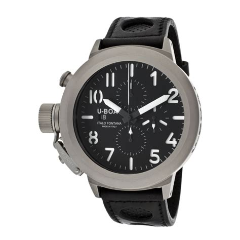 U Boat U 7750 50 by U Boat S Flightdeck 7750 50 Titanium Watches