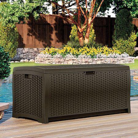 Suncast Williston 22 Gallon Resin Deck Box by Best 25 Deck Storage Box Ideas On Garden