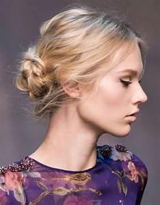 Chignon Cheveux Mi Long : des id es de coiffures faciles elle ~ Melissatoandfro.com Idées de Décoration