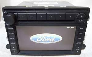Ford Mustang 2006 2007 2008 2009 Factory Nav Navigation 6 Disc CD Player Radio 7T4T18K931BA