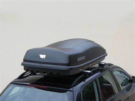 coffre de toit farad f3 480l avec la ouverture lat 233 rale