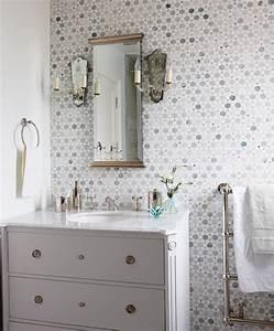 photos 15 petites et jolies salles d39eau maison et With kitchen cabinets lowes with faire une fleur en papier