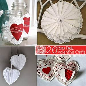 26 Paper Doily Valentine Crafts - The Scrap Shoppe