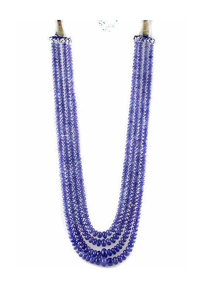 String Beads Tanzanite Smooth Roundel Kci Indiamart