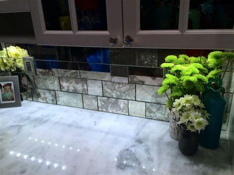 antique mirror backsplash tiles home design ideas