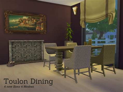 Toulon Diningroom By Angela At Tsr » Sims 4 Updates