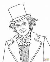Coloring Charlie Chocolate Willy Wonka Factory Pages Gene Wilder Loompa Oompa Bar Colouring Printable Supercoloring Printables Umpa Sheets Template Cartoon sketch template