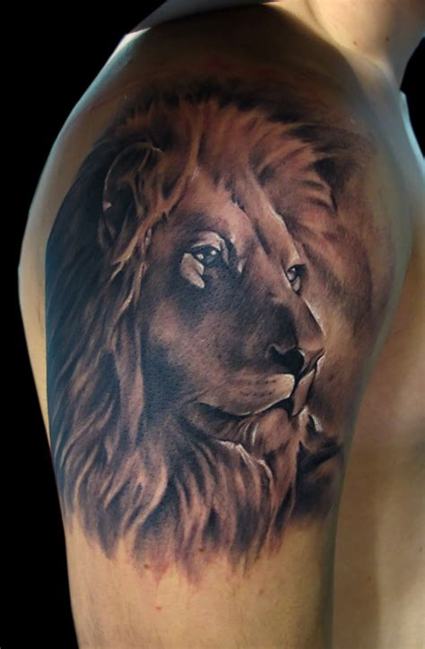 lion tattoo designs  men