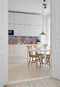 Papiers Peints Cuisine : papier peint pour cuisine une touche de joie dans l ~ Melissatoandfro.com Idées de Décoration