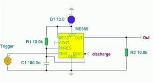 How To Build Ne555 Basic Monostable