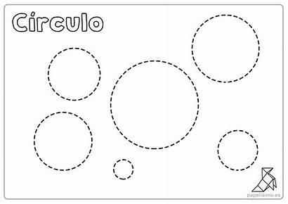 Figuras Geometricas Imprimir Repasar Colorear Fichas Formas