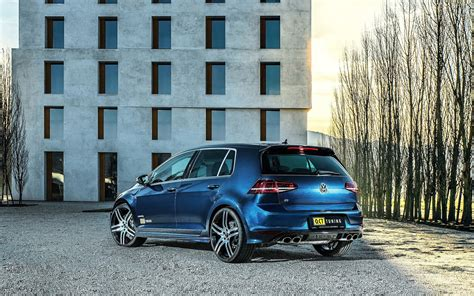 volkswagen golf   wallpapers tuning blue