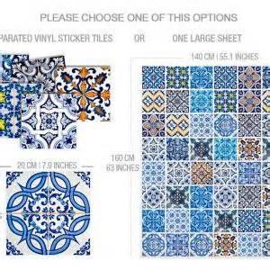 tile tattoos kitchen tile stickers blue tiles for kitchen or bathroom 2777
