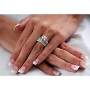 wedding band set ring