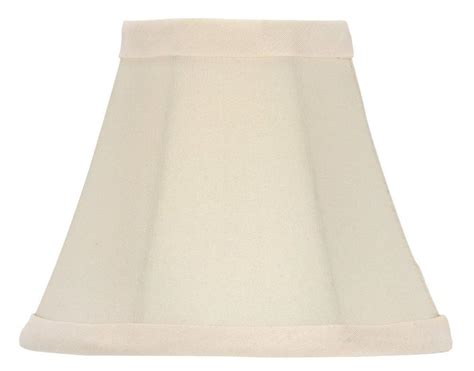 upgradelights 174 6 quot white bell shade chandelier l