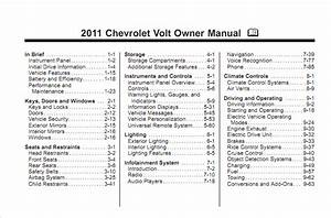 Chevy Volt Owner U0026 39 S Manual Gm
