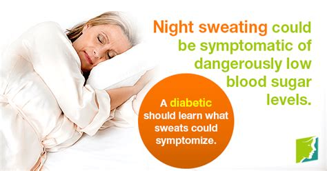 diabetes trigger night sweat episodes