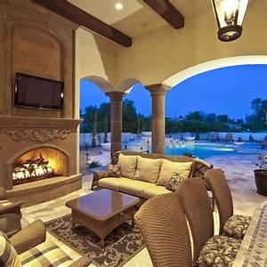 Luxury outdoor living.
