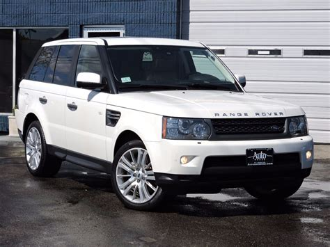 land rover 2010 used 2010 land rover range rover sport hse lux at saugus
