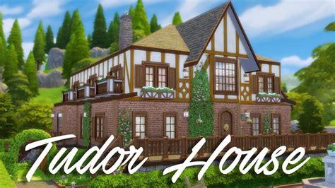 sims  speed build tudor house youtube