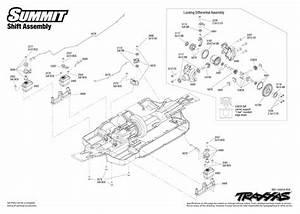 Summit  5607  Shift Assembly