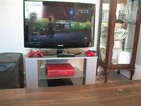 awesome gaming room gb ps slim red xbox