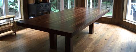 table cuisine bois massif table comptoir bloc de boucher et ilôt en bois massif