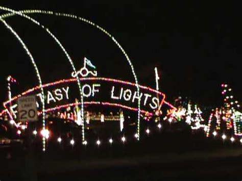 christmas lights vasona park festival of lights part 1