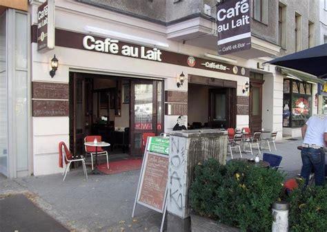 cafe au lait berlin caf 233 au lait caf 233 et bar cafe in berlin charlottenburg kauperts