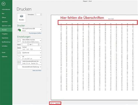 / ihre blutdruckwerte auf einen blick. Excel-Tabellen perfekt auf einer Seite ausdrucken mit Kopf- und Fußzeilen
