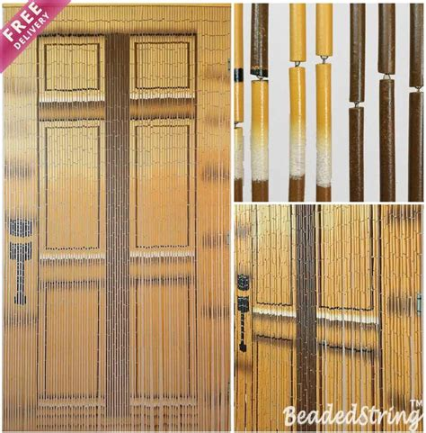 bamboo beaded door curtains painted bamboo beaded curtain door curtain door 90 strands