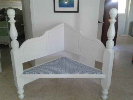 diy corner headboard make a corner bench out of old headboard