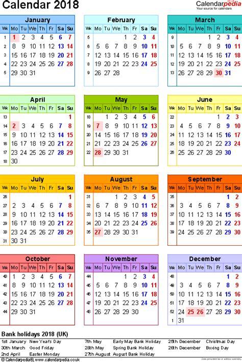 excel 2018 yearly calendar 2018 calendar excel calendar yearly printable