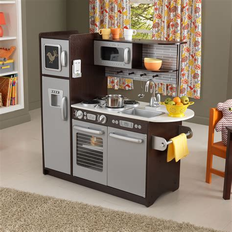 Kidkraft Uptown Espresso Play Kitchen  53260  Play. Removing Kitchen Countertops. Pictures Of Backsplashes In Kitchens. Easy Backsplash Kitchen. Different Kitchen Countertops. Kitchen Color Ideas. Kitchen Quartz Countertops Cost. Pre Cut Kitchen Countertops. Kitchens With Gray Floors