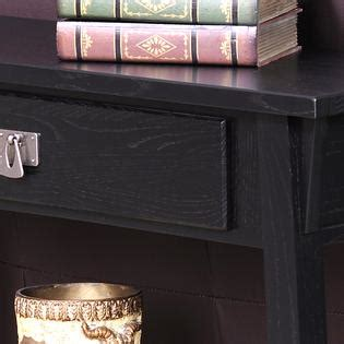 leick mission hall console table slate black leick mission console table hall stand slate black