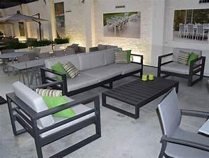 Fauteuil Jardin Aluminium : fauteuil de jardin en alu azuro ~ Teatrodelosmanantiales.com Idées de Décoration