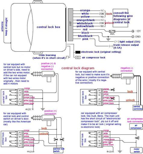 Polo 6n2 Central Locking Wiring Diagram by How To Fit An R Click Remote Locking Kit Electrical