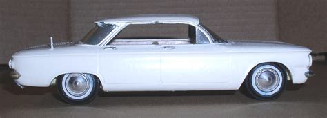 chevrolet corvair amt smp built model car thingery