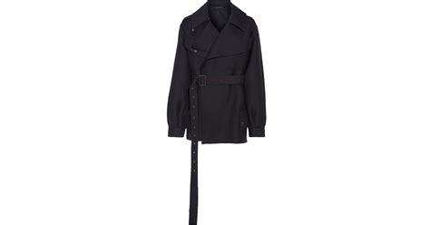 The Row Shamsta Belted Wool And Silk-blend Coat In Black