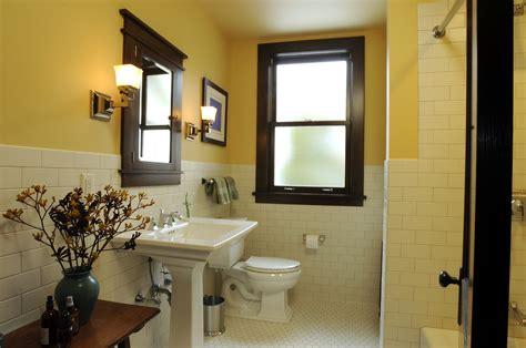 Craftsman Style Bathroom Fixtures by Architect Fred M Fargotstein Craftsman Bathroom Renovation