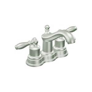 faucet com ca84914cbn in classic brushed nickel by moen