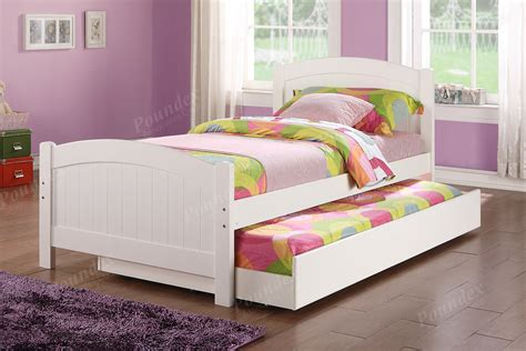 Twin Bed W Trundle Day Bed Bedroom Furniture