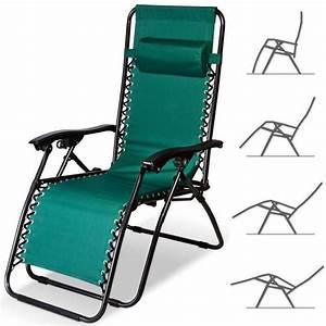 Chaise Longue Pliante : chaise longue de jardin pliable chaise pliable de ~ Melissatoandfro.com Idées de Décoration