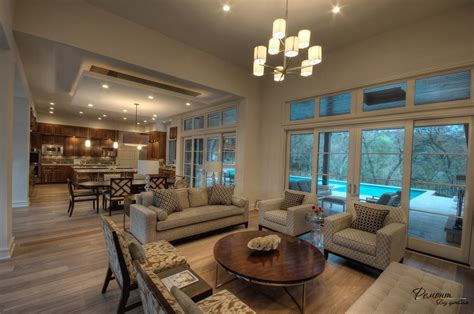 design for living room with open kitchen интерьер гостиной в загородном доме 25 лучших идей 9848