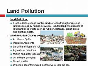 Environment & Environmental pollution, causes, effects ...