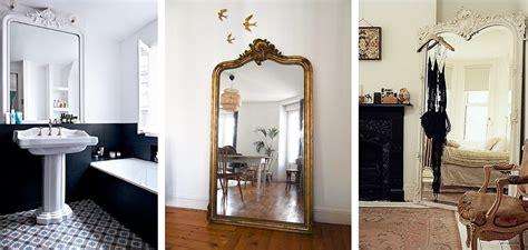 id 233 e d 233 co un grand miroir ancien une hirondelle dans les tiroirs