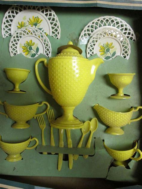 159 best vintage toy tea sets images on Pinterest   Old